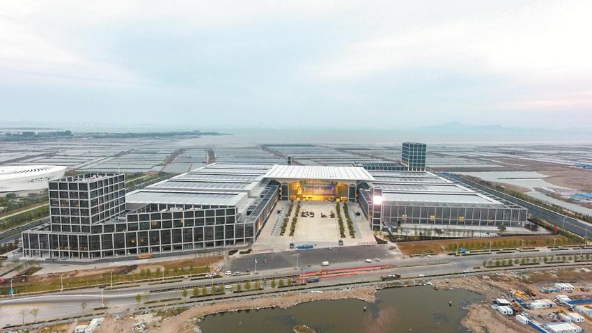 红岛国际会议展览中心15日开馆