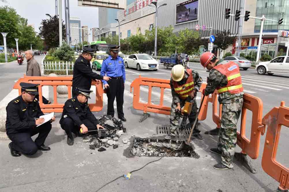 新疆奎屯提升城市管理精细化水平