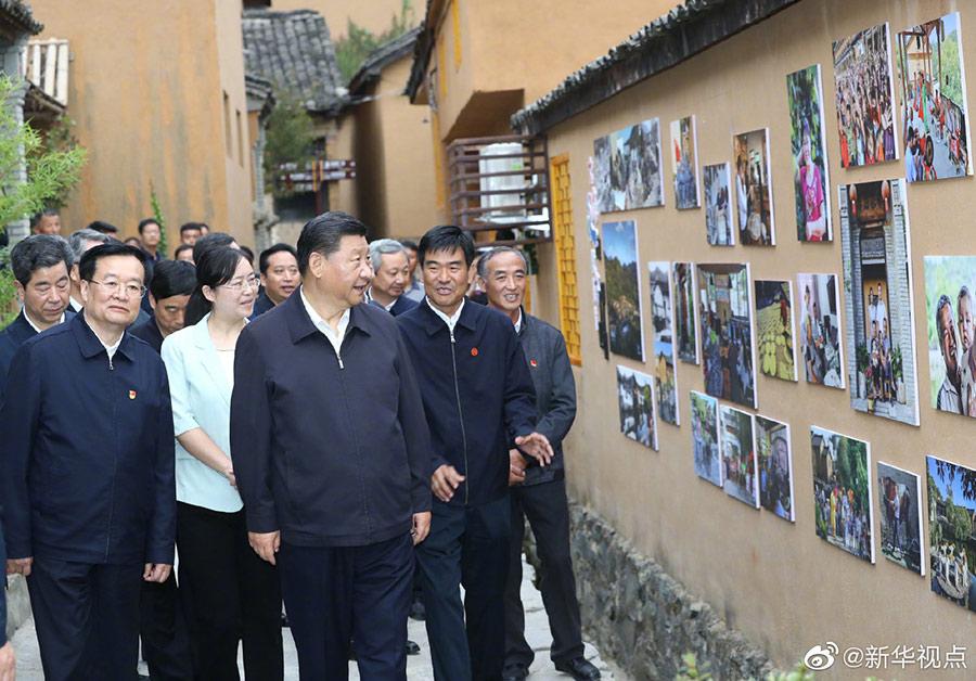 习近平:把传统村落改造好