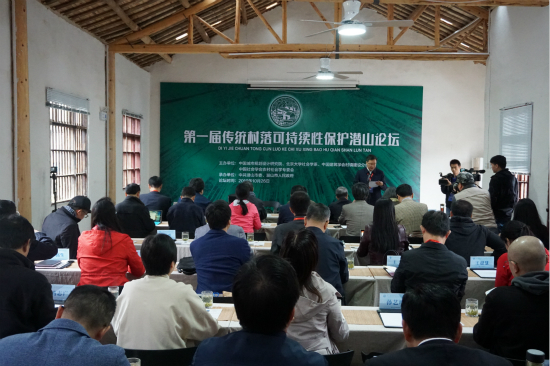 第一届传统村落可持续性保护潜山论坛召开