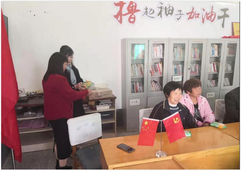 河南省焦作市住房和城乡建设局到秘涧村开展党的惠民政策宣讲活动