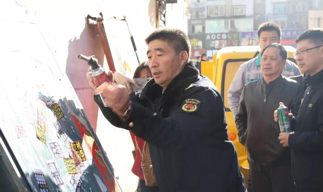 吉林市城市管理行政执法局野广告治理攻坚行动有实效