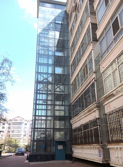 新知行   哈尔滨市花园街道辖区外部空间的适老性改造