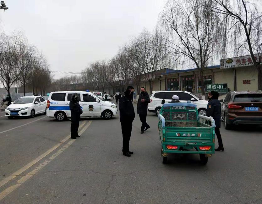 甘肃省临夏市城管执法局联合多部门开展春节期间整治 防止疫情扩散