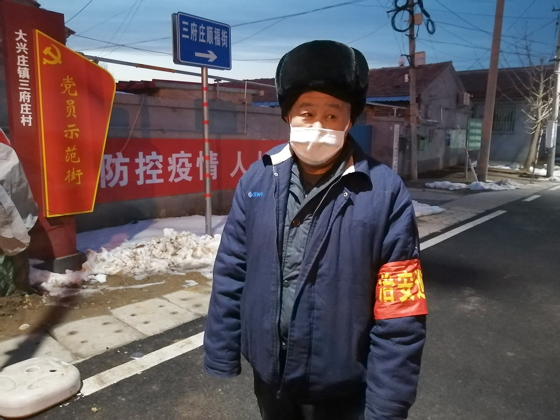 孟凡军和他的工友们:只要人勤快就能多赚钱,希望早点开工