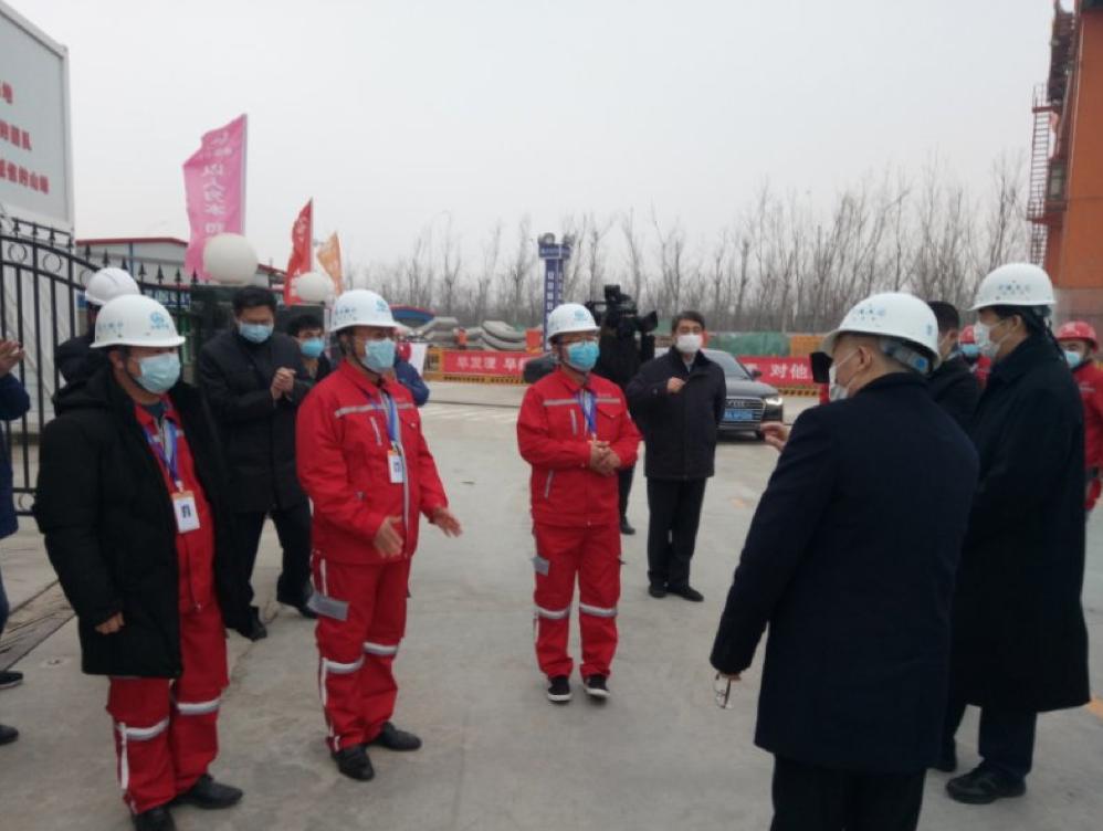 天津市长张国清调研地铁重点项目复工
