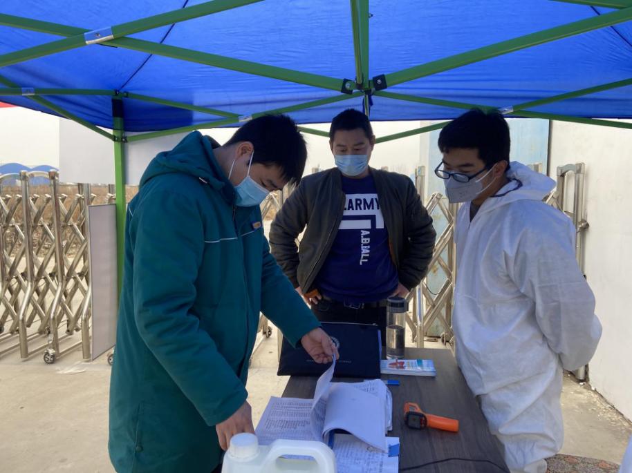 郑州这个重点民生项目正式复工 6项措施全力做好疫情防控工作