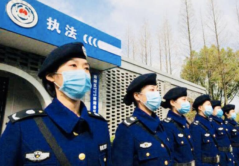 """嘉兴综合行政执法""""南湖女子分队""""展风采"""