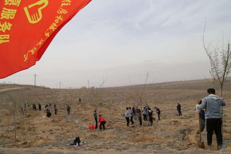 新疆自治区住房和城乡建设厅开展义务植树志愿服务活动