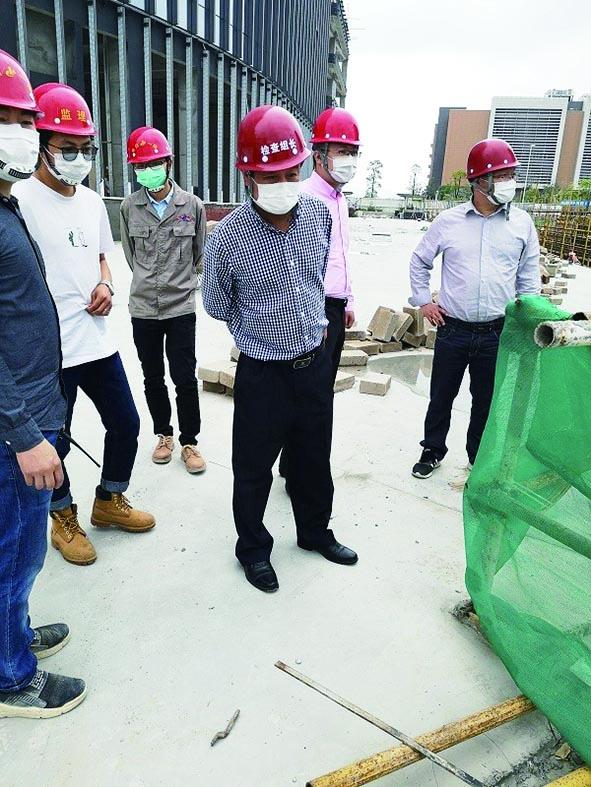 珠海:开展今年一季度建设工程安全生产文明施工大检查暨起重机械专项检查