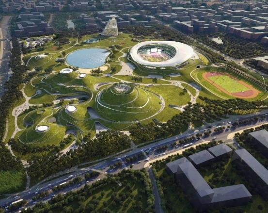 """建造""""隐形""""的体育场馆——看浙江衢州体育公园如何创新"""