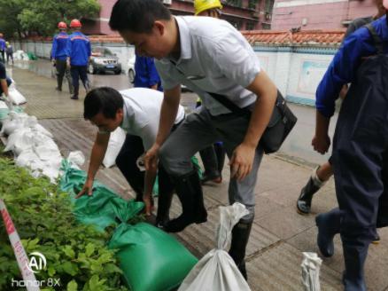 湖北省黄石市住房和城乡建设局全力以赴防汛抗灾