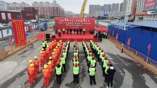 """长春地铁7号线:成立""""青年突击队"""" 抢抓施工黄金季"""