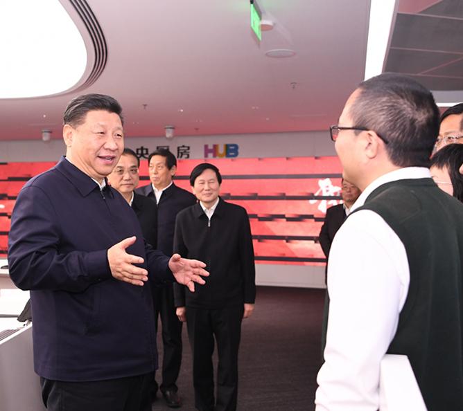 习近平:推动媒体融合向纵深发展 巩固全党全国人民共同思想基础